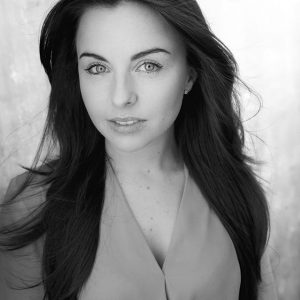Louisa Lytton black and white