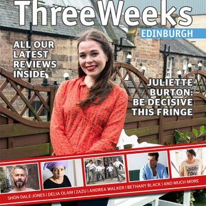 ThreeWeeksEdinburgh.JulietteBurton.Cover