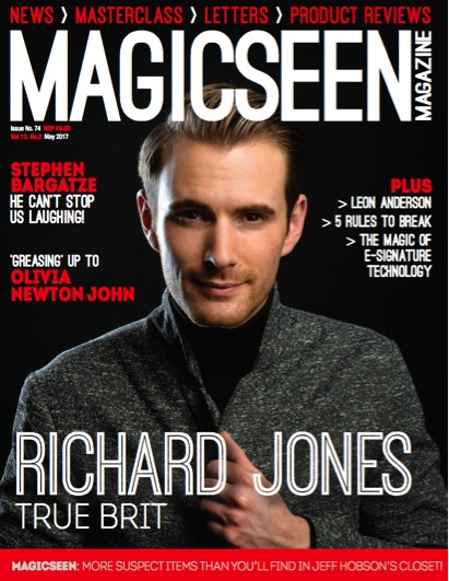 RICHARD JONES - Magic Seen Magazine