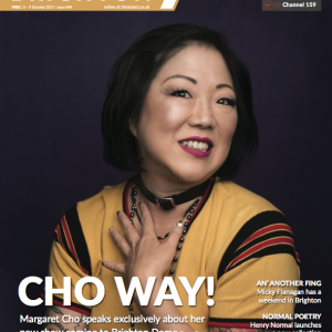 Margaret Cho Latest Brighton oct cover
