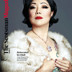 Margaret Cho Scotsman Magazine Cover